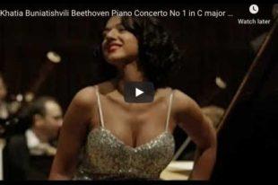 Beethoven - Piano Concerto No. 1 - Khatia Buniatishvili