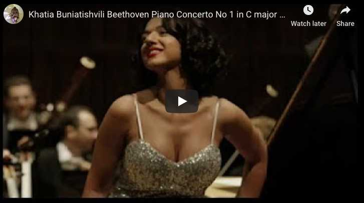 Beethoven - Piano Concerto No 1 in C Major - Buniatishvili, Piano