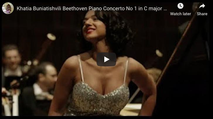 Beethoven - Piano Concerto No 1 in C Major - Buniatishvili, Piano