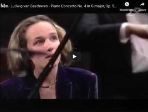 Beethoven - Piano Concerto No 4 in G Major - Grimaud, Piano