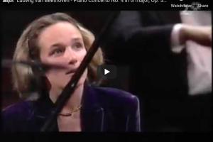 Beethoven – Piano Concerto No 4 in G Major – Grimaud, Piano
