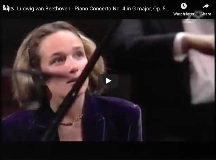Beethoven - Piano Concerto No 4 in G Major - Grimaud, Piano