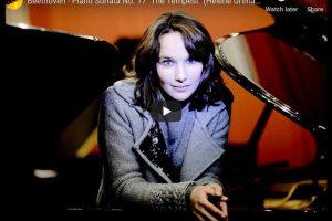 Beethoven – Sonata No. 17, Allegretto – Grimaud, Piano