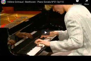 Beethoven – Piano Sonata No. 31 – Hélène Grimaud