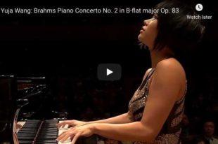 Brahms - Piano Concerto No 2 - Wang, Piano