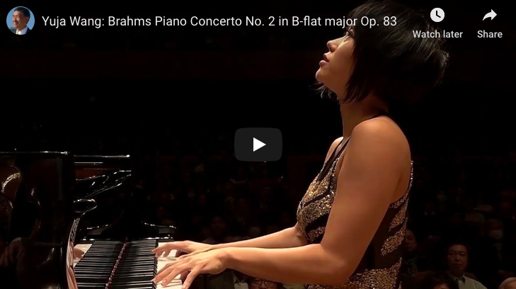 Brahms - Piano Concerto No 2 - Wang, Piano