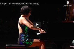 Chopin – Prelude No. 24 – Yuja Wang, Piano