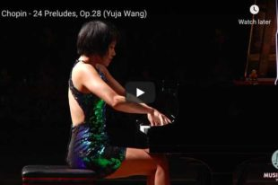 Chopin - Prelude No. 16 - Wang, Piano