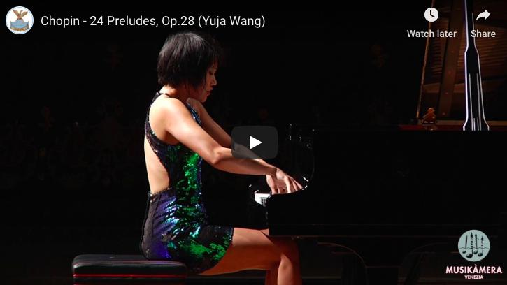 Chopin - 24 Preludes for Piano Op 28 - Wang, Piano