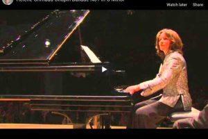 Chopin – Ballade No. 1 – Grimaud, Piano