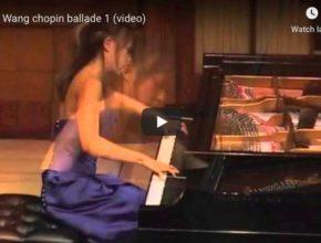 Chopin - Ballade No 1 in G minor - Wang, Piano