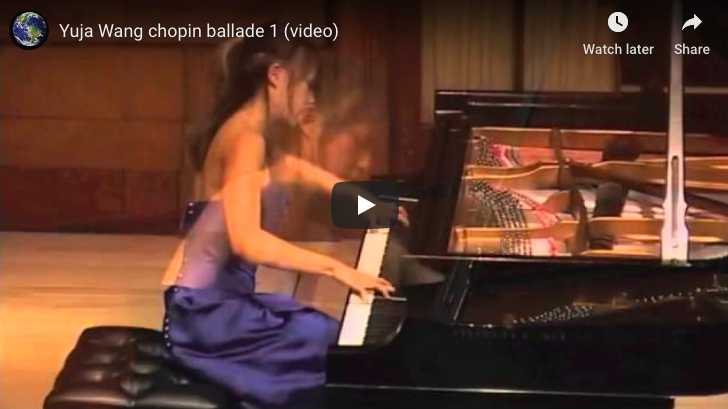 Chopin - Ballade No 1 in G minor - Wang, Piano