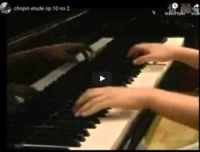 Chopin - Étude Op. 10 No. 2 in A Minor - Yuja Wang, Piano
