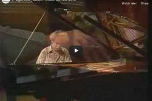 Chopin - Etude Op. 25 No. 6 - Pogorelich, Piano