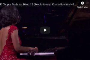 Chopin – Étude Revolutionary – Buniatishvili, Piano