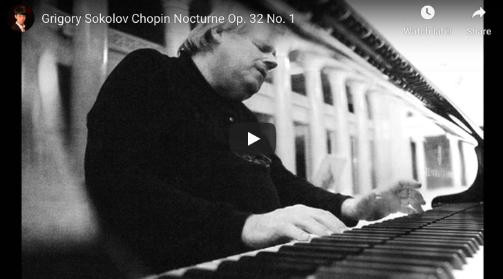 Chopin - Nocturne No 9 in B Major - Sokolov, Piano
