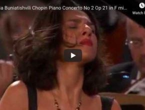 Chopin - Piano Concerto No 2 in F Minor - Buniatishvili, Piano