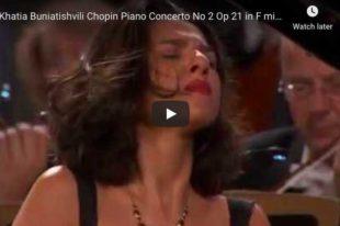 Chopin - Piano Concerto No. 2 - Khatia Buniatishvili
