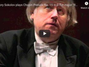 Chopin - Prelude No 15 in D-Flat Major - Sokolov, Piano