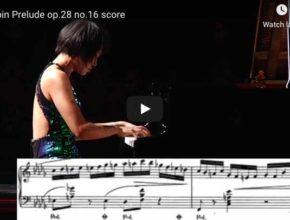 Chopin - Prelude No 16 Op 28 in B-Flat Minor - Wang, Piano