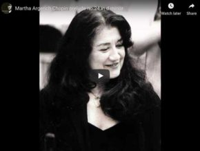 Chopin - Prelude No 24 in D Minor - Argerich, Piano