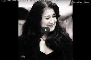 Chopin – Prelude No. 24 – Argerich, Piano