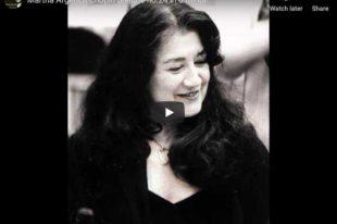 Chopin - Prelude No. 24 - Martha Argerich, Piano