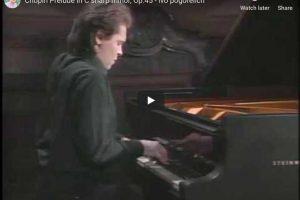 Chopin – Prelude No 25 in C-Sharp Minor – Pogorelich, Piano
