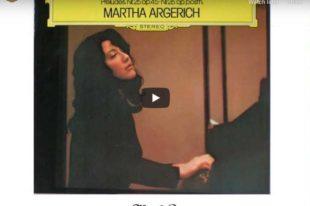 Chopin - Prelude No. 4 - Martha Argerich, Piano