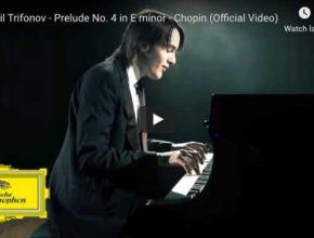 Chopin - Prelude No 4 in E Minor - Trifonov, Piano