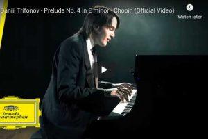 Chopin – Prelude No. 4 – Trifonov, Piano
