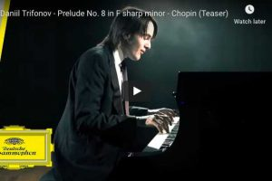 Chopin – Prelude No. 8 – Trifonov, Piano