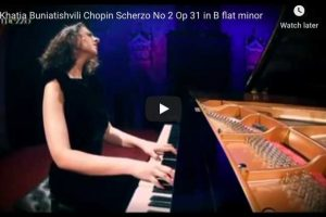 Chopin – Scherzo No. 2 – Khatia Buniatishvili, Piano