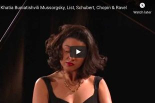Chopin - Scherzo No. 3 - Khatia Buniatishvili, Piano