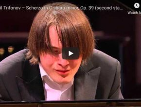Chopin - Scherzo No 3 in C-Sharp Minor - Trifonov, Piano
