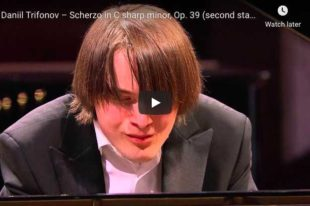 Chopin - Scherzo No 3 in C-Sharp Minor - Trifonov, Piano