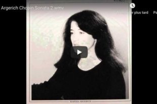 Chopin - Piano Sonata No. 2 - Martha Argerich