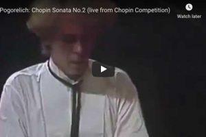 Chopin – Piano Sonata No. 2 – Ivo Pogorelich