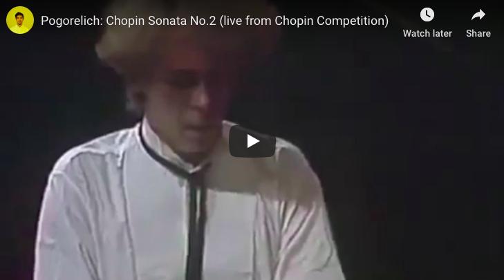 Chopin - Sonata No 2 in B-Flat Minor - Pogorelich, Piano