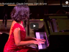 Debussy - Clair de Lune (Moonlight)- Buniatishvili, Piano