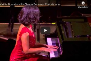 Moonlight (Debussy) – Khatia Buniatishvili, Piano