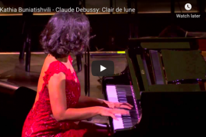 Debussy – Clair de Lune (Moonlight) – Buniatishvili, Piano