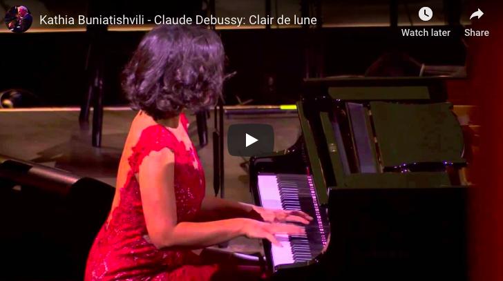 Debussy - Clair de Lune (Moonlight)- Buniatishvili, Piano