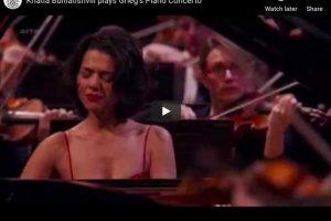 Grieg – Piano Concerto – Khatia Buniatishvili