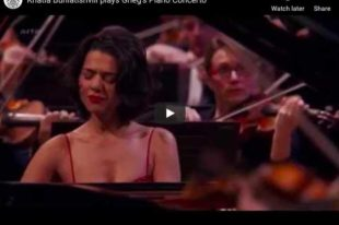 Grieg - Piano Concerto in A Minor - Khatia Buniatishvili