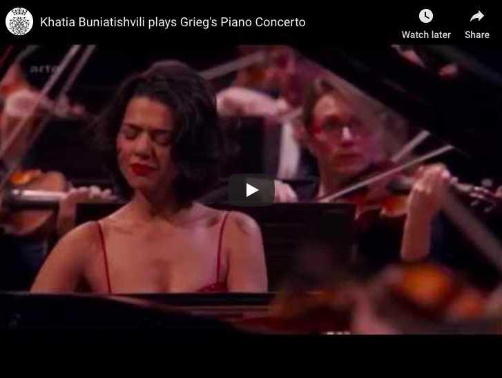 Grieg - Piano Concerto in A Minor - Buniatishvili, Piano