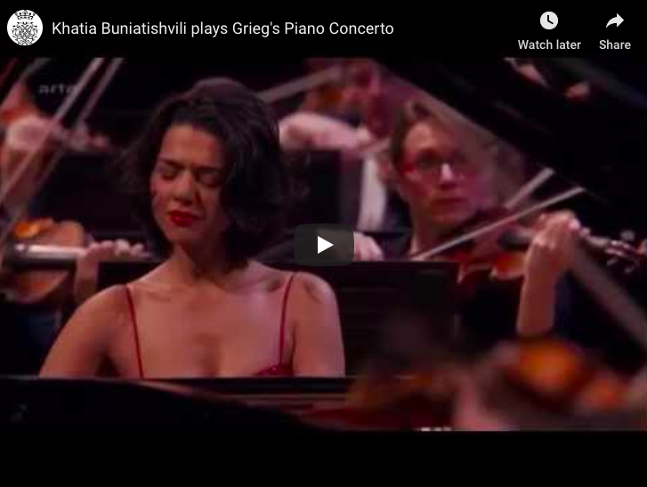 Grieg - Piano Concerto in A Minor - Buniatishvili, Piano