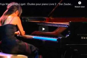 Ligeti – Etude No. 10, The Sorcerer's Apprentice – Wang, Piano