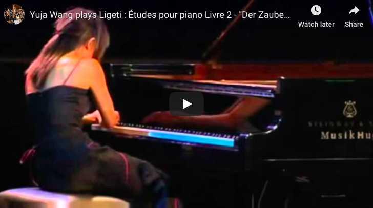 Ligeti - Etude 10, Der Zauberlehrling (The Sorcerer's Apprentice) - Wang, Piano