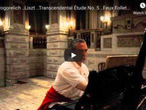 Liszt - Transcendental Étude No 5, Feux Follets - Pogorelich, Piano